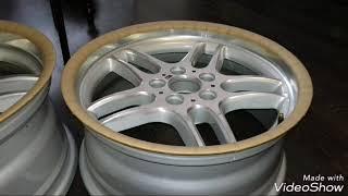 видео Расточка ЦО (центрального отверстия) диска в гаражных условиях