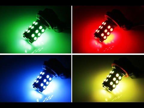iJDMTOY Wireless Control RGB Multi-Color LED Fog Lights - YouTube