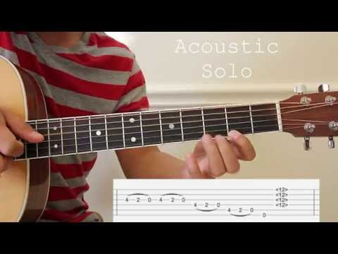 Gitara Solo Adlib tutorial (Parokya Ni Edgar) With TAB