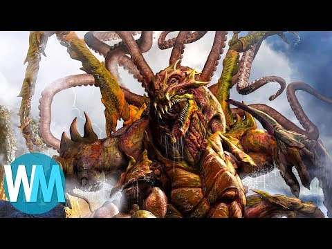 Top 10 Most Terrifying Mythical Creatures