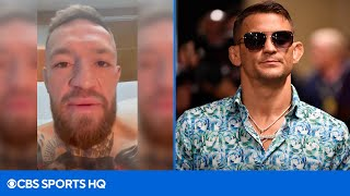 Conor McGregor Calls Out Dustin Poirier From His Hospital Bed After Surgery