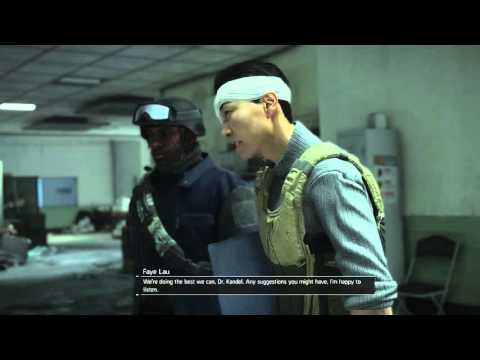 The Division - Ulock Medical Wing Jessica Kandel & Faye ''Dr Gordon Amherst'' Chat Cutscene PS4