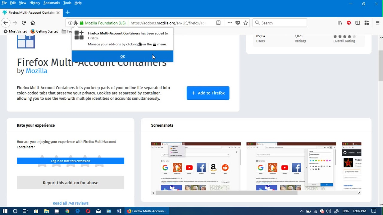 Fixit Firefox Facebook Container app to stay more private on social media
