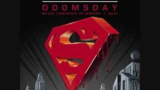 superman doomsday soundtrack- main title