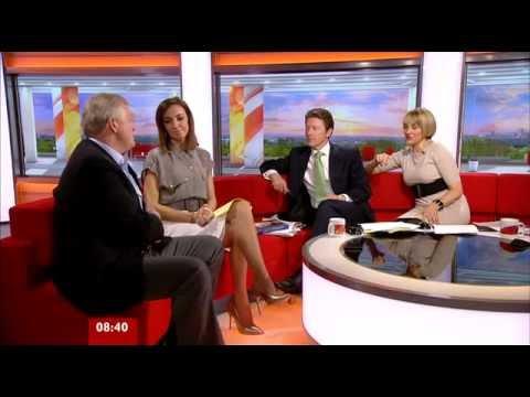 Sally Nugent BBC Breakfast Sport 17-05-2012