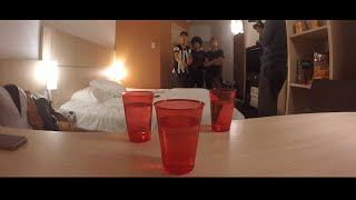 BEER PONG FT PAISAVLOGS & DAVID ECHEVERRY