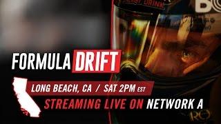 Formula Drift Long Beach LIVE Stream - Saturday, Apr 1, 2017 thumbnail