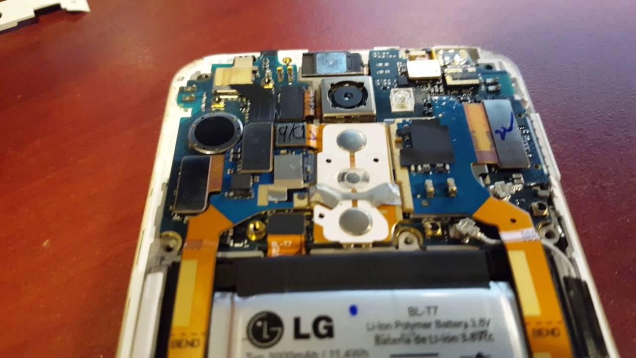 Fix LG G2 screen when it goes blank, does not turn on, screen dead