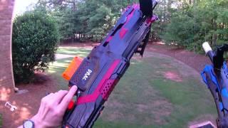 Drac Akimbos Twin Semi-Auto Nerf Crossbows