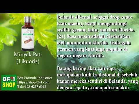Pati Minyak Wangi Aromatik - Likuoris (Licorice)
