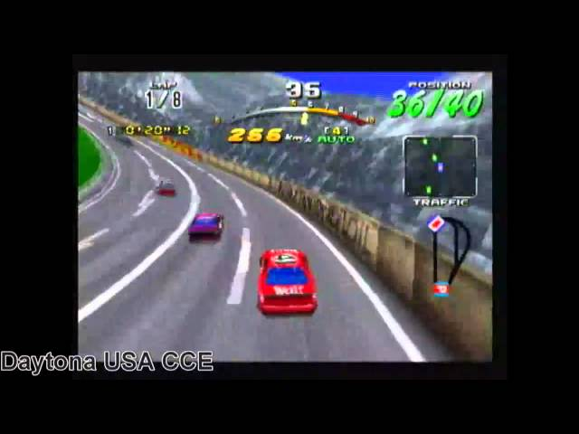 Daytona USA vs. Daytona USA CCE - Sega Saturn