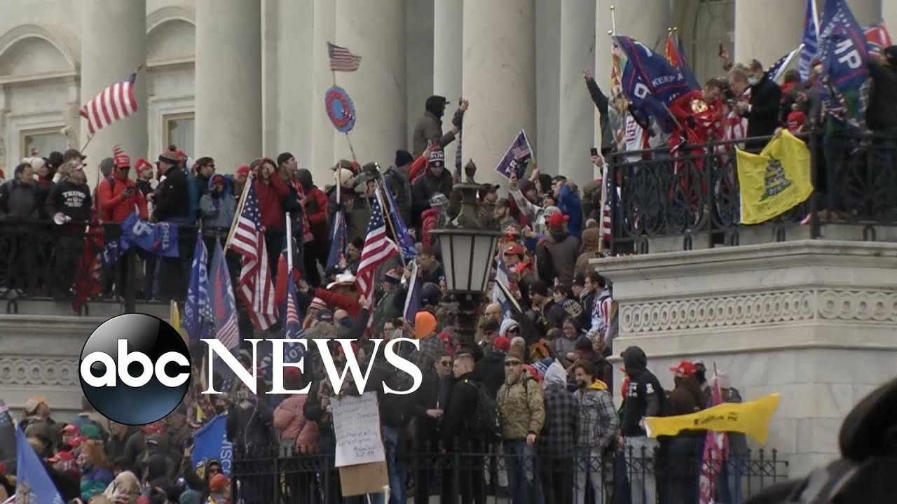 4 dead after pro-Trump mob breaches Capitol building l GMA