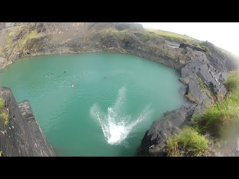 Cliff Jumping Accident at the Blue Lagoon