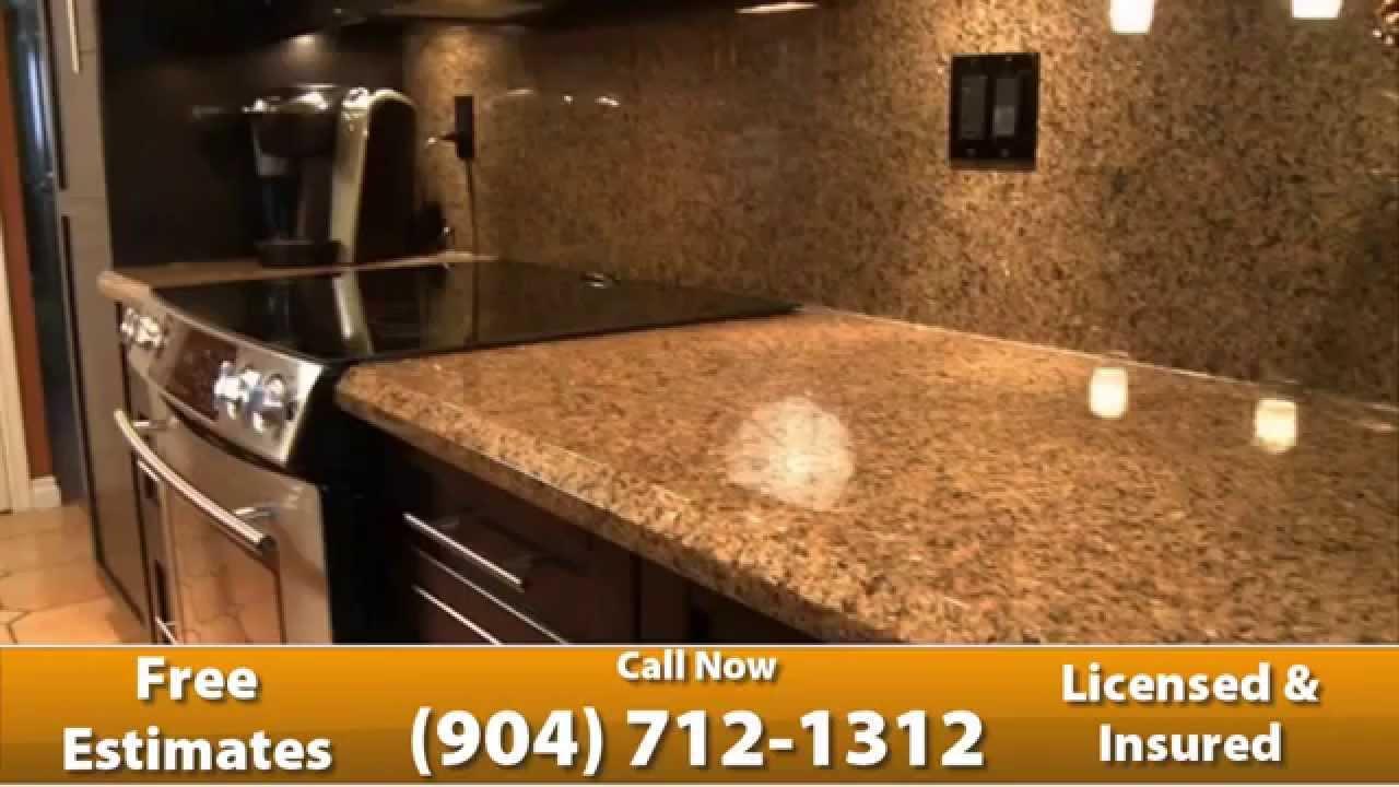 Quartz countertops jacksonville fl youtube for Happy floors valencia grey