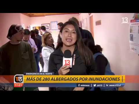 EXTRA de T13 | Lluvias provocan emergencia en el norte de Chile