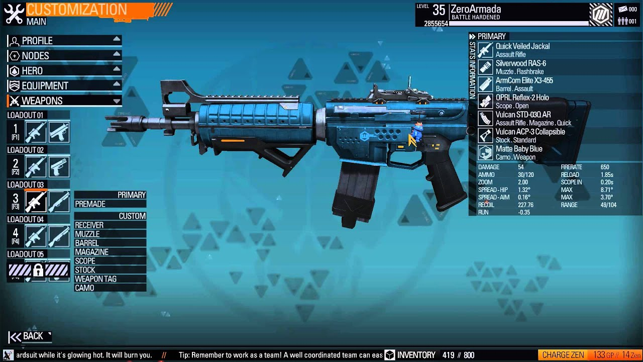 Blacklight Retribution Weapon Customization Guide ...