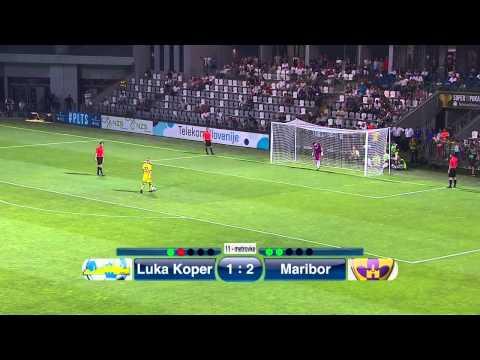 FC Luka Koper vs. NK Maribor  0 - 0   Penalty series  (SLOVENIA: Super Cup - Final - 05.07.2015)