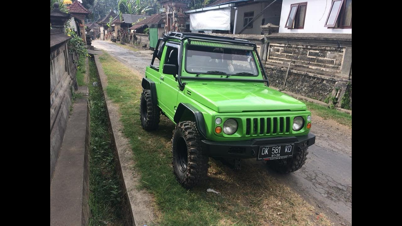 MODIFIKASI SUZUKI KATANA JIMNY OFFROAD Part 1