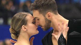 Ритм танец французских фигуристов Габриэллы Пападакис и Гийома Сизерона на чемпионате мира 2019 года