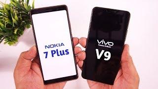 Nokia 7 Plus vs Vivo V9 Camera & Speed Test [Urdu/Hindi]