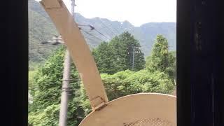 四国新幹線 川沿いの前面展望