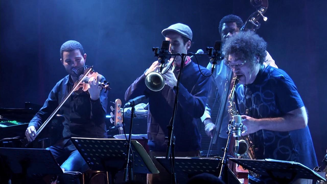 Julien Lourau & The Groove Retrievers feat. Mélissa Laveaux - live@Studio de l'Ermitage janvier 2017