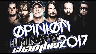 OPINIÓN ELIMINATION CHAMBER 2017 | #WWEChamber