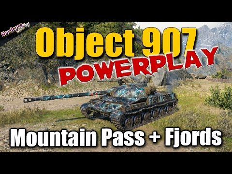 WOT: Object 907 Powerplay, Best World Of Tanks Recordings