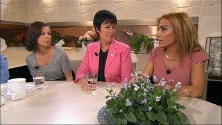 Ida Hult, Ametist Azordegan och Mona Sahlin om Sverige och svenskhet - Nyhetsmorgon (TV4)