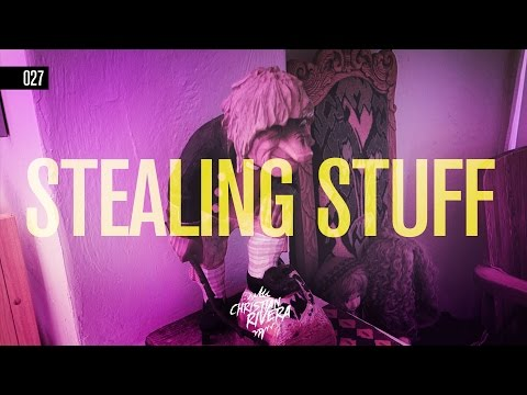 VLOG 027   STEALING THINGS   SAN DIEGO'S CULTURAL COTTAGES