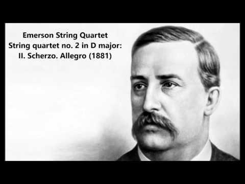 Emerson String Quartet: The complete String quartet no. 2 in D major (Borodin)