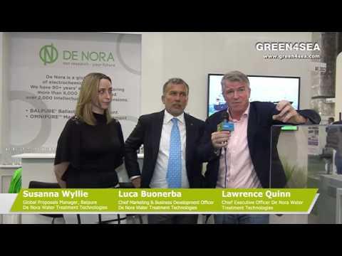 Interview with S.Wyllie, L.Buonerba & L.Quinn, De Nora
