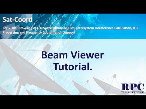 Sat-Coord: Beam Viewer Tutorial