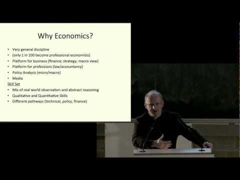 Economics (Video Version) - TCD Undergraduate Open Day 2012