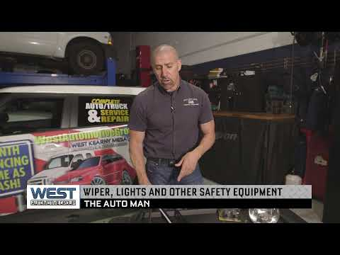 Wipers and lights: Some Important Safety Equipment for Your Vehicle