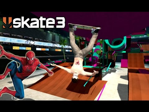 Skate 3 - I'm Spiderman [Playstation 3 Gameplay]