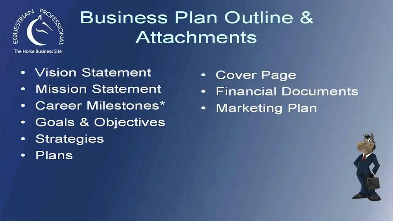 Equine business plan