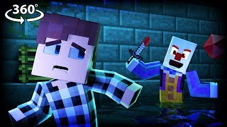 360° IT - PENNYWISE VISION - Minecraft 360° Video