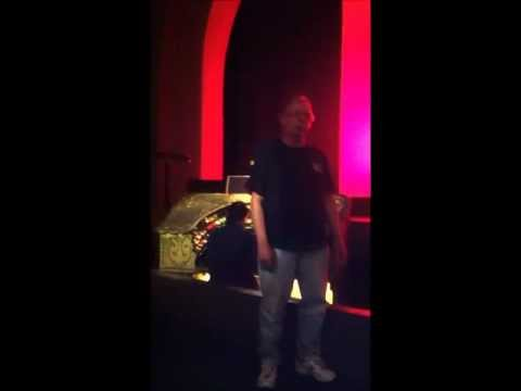 White Christmas Sung by Tom Water at Catalina Island Casino 12-7-12