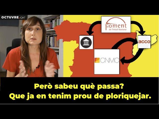 Una trama contra l'ANC / Podem fer un BOICOT SALVATGE els catalans???