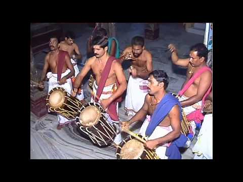 Native Drummers From India Go Into Trance (Chenda Melam)