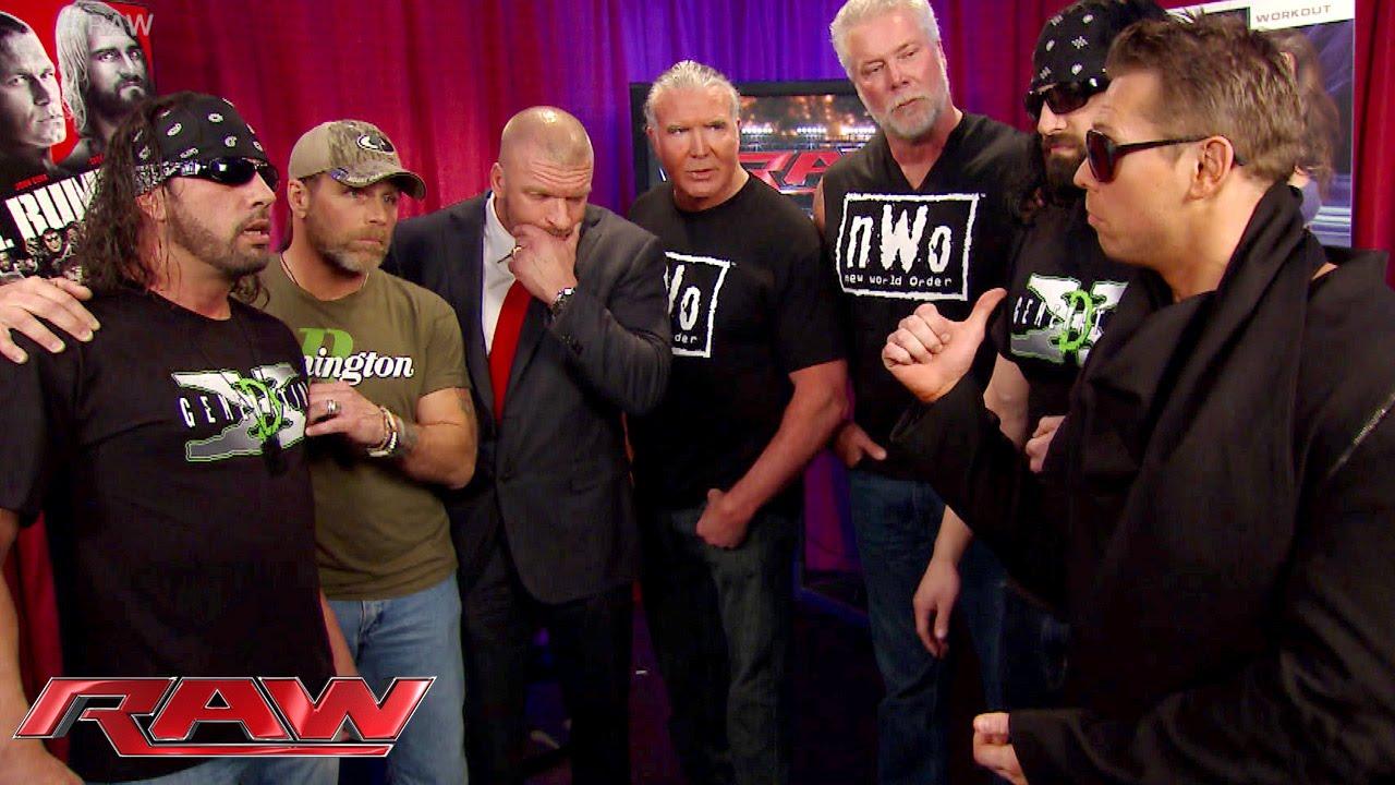 The Kliq reunites backstage: Raw, January 19, 2015 - YouTube