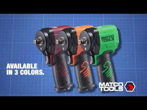 Matco Stubby Push Button Impact Wrench - MT2765