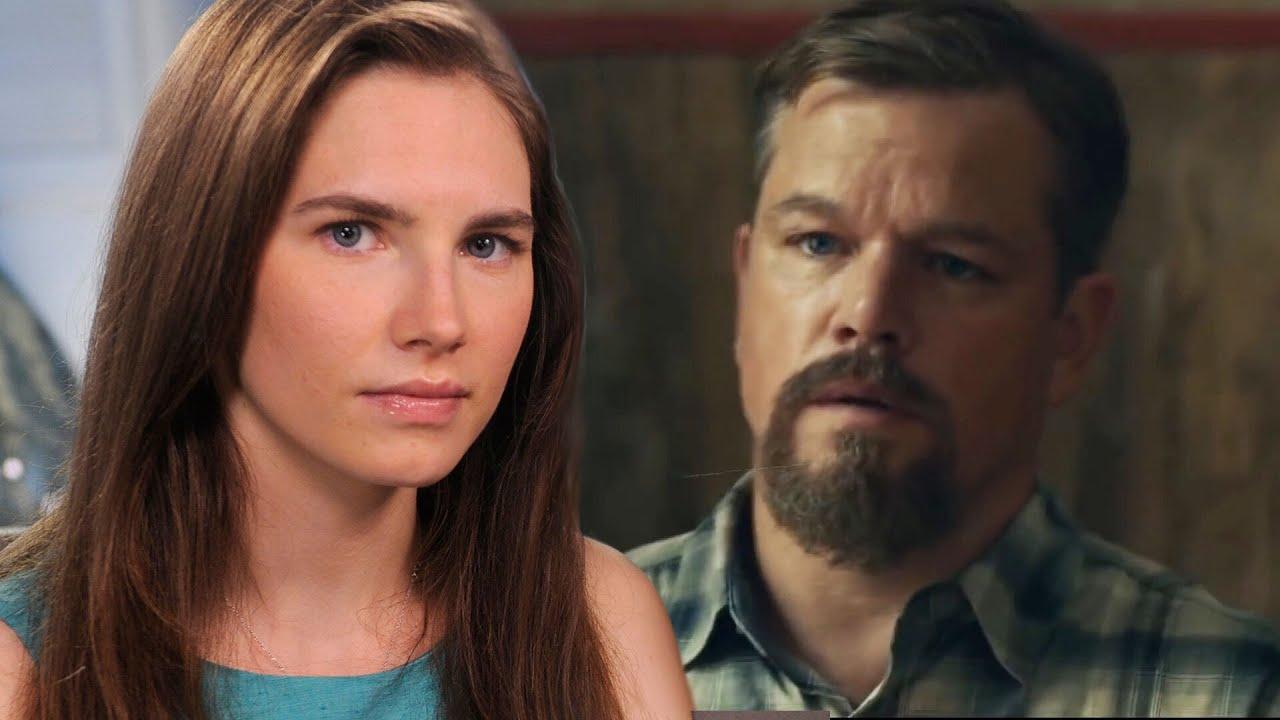 Amanda Knox Speaks Out Against Matt Damon Film Stillwater