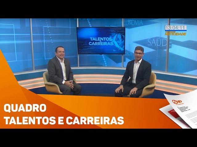 Quadro Talentos e Carreiras - TV SOROCABA/SBT