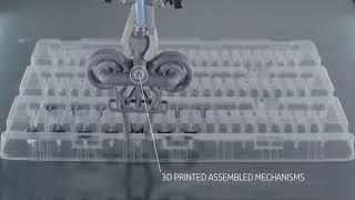 Pneumatischer Greifer - HP 3D Druck