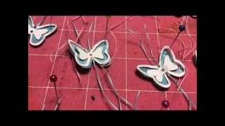 SERIES 1: EPISODE 3 Making Your Own Embellishments.Floating Butterflies