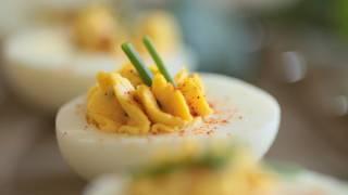 Herb Deviled Eggs Recipe    Kin Eats