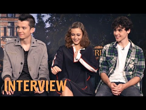 Asa, Ella & Finlay Interview   Miss Peregrine's Home For Peculiar Children