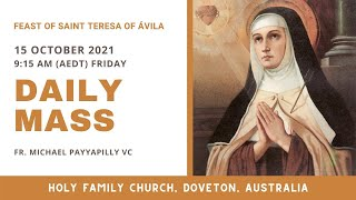 Part 1 - 15 OCT |  Fr. Michael Payyapilly VC